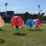 mpt coporate events corporate team building games bubble soccer
