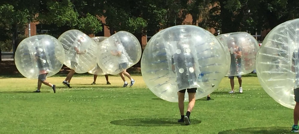 Bubble soccer corporate entertainment bubble balls