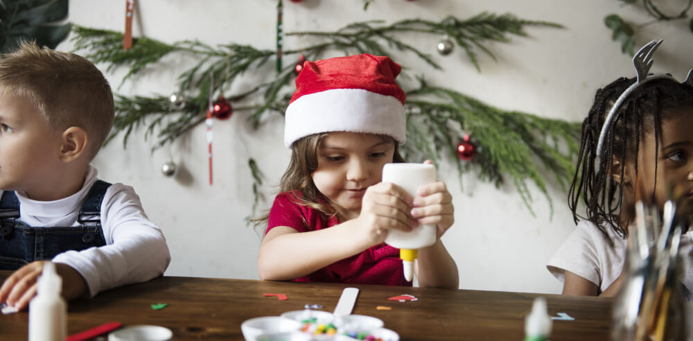 Christmas party ideas - Babysitter stipend